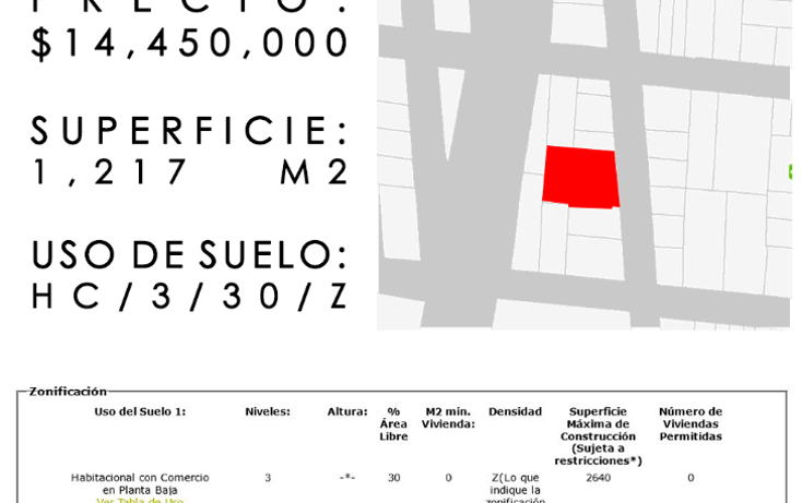 Foto de terreno comercial en venta en  , morelos, venustiano carranza, distrito federal, 1911772 No. 01
