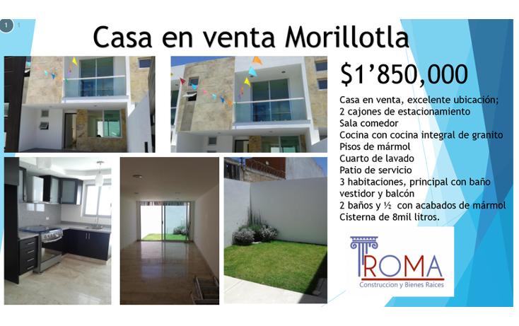 Foto de casa en venta en  , morillotla, san andr?s cholula, puebla, 1452287 No. 26