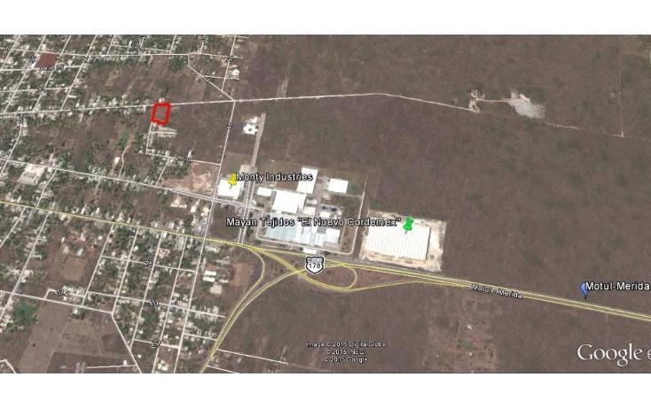 Foto de terreno comercial en venta en  , motul de carrillo puerto centro, motul, yucatán, 1051785 No. 01