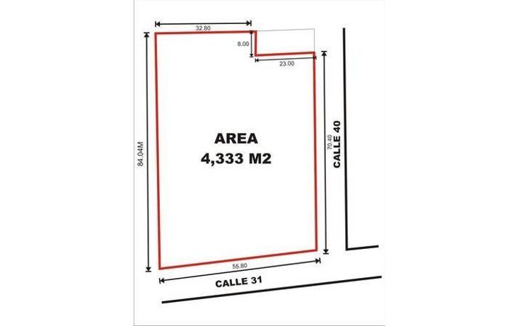 Foto de terreno comercial en venta en  , motul de carrillo puerto centro, motul, yucatán, 1051785 No. 02