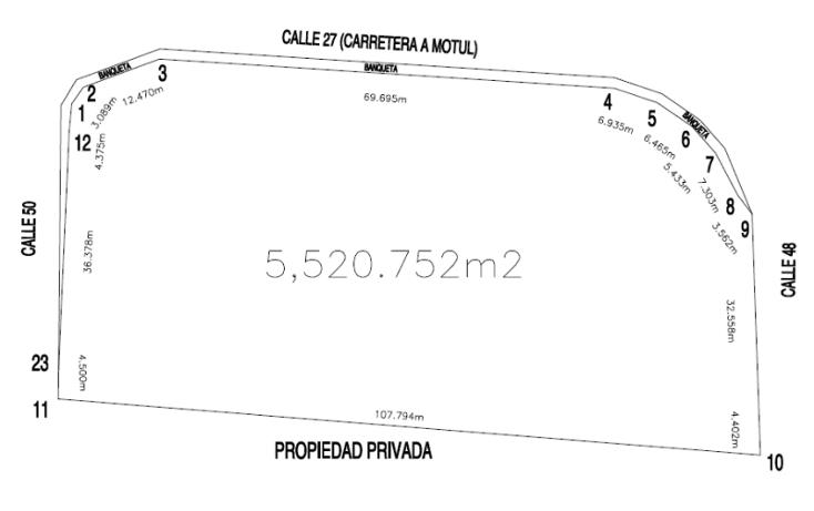 Foto de terreno comercial en venta en  , motul de carrillo puerto centro, motul, yucat?n, 1097495 No. 01