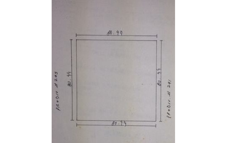 Foto de terreno habitacional en venta en  , motul de carrillo puerto centro, motul, yucatán, 1295441 No. 02