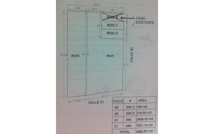 Foto de terreno comercial en venta en  , motul de carrillo puerto centro, motul, yucat?n, 1399613 No. 03