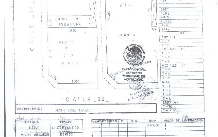 Foto de edificio en venta en, motul de carrillo puerto centro, motul, yucatán, 1462369 no 02