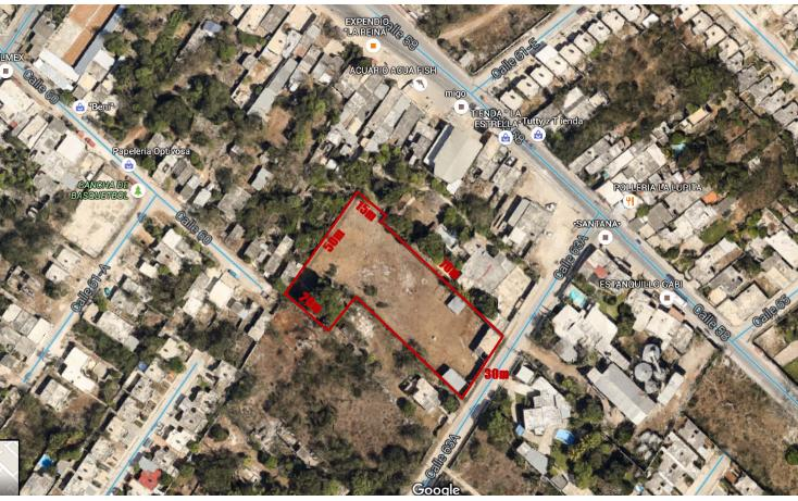 Foto de terreno comercial en venta en  , mulchechen, kanasín, yucatán, 2003772 No. 01