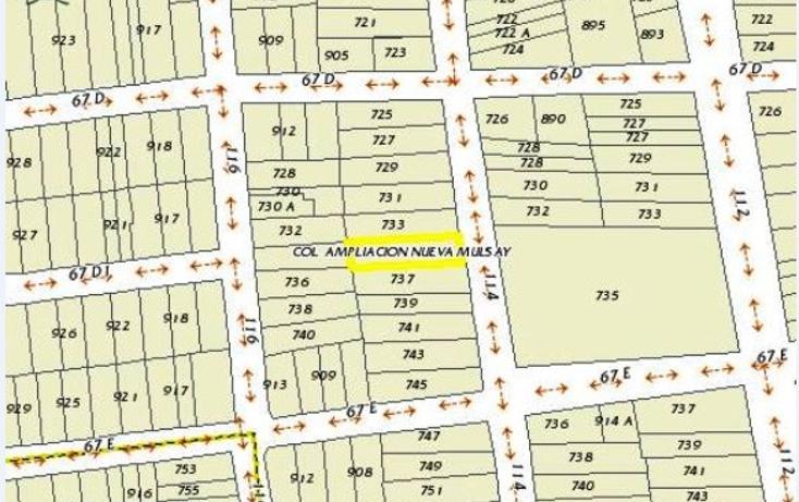 Foto de terreno comercial en venta en  , mulsay de la magdalena, mérida, yucatán, 1691332 No. 05