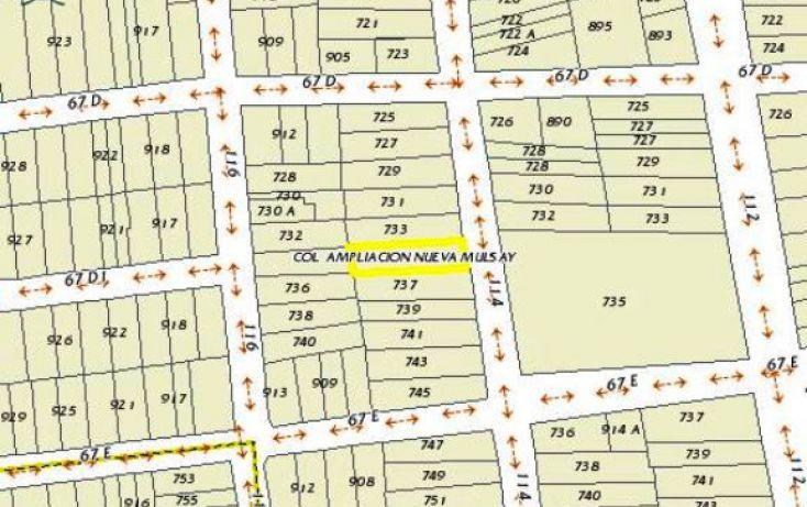 Foto de terreno comercial en venta en, mulsay de la magdalena, mérida, yucatán, 1741792 no 06