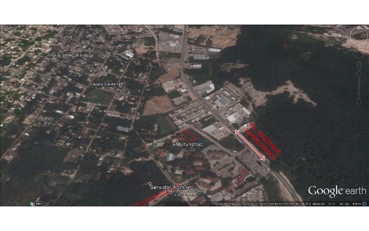 Foto de terreno habitacional en venta en  , multunchac, campeche, campeche, 1572380 No. 01