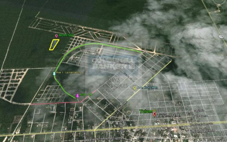 Foto de terreno habitacional en venta en mza 750 lt12 12, villas tulum, tulum, quintana roo, 1481021 no 01