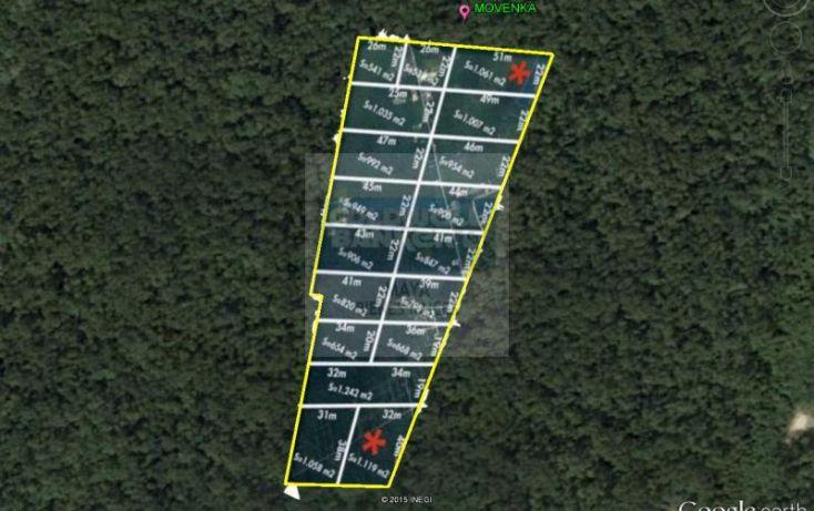 Foto de terreno habitacional en venta en mza 750 lt12 12, villas tulum, tulum, quintana roo, 1481021 no 02