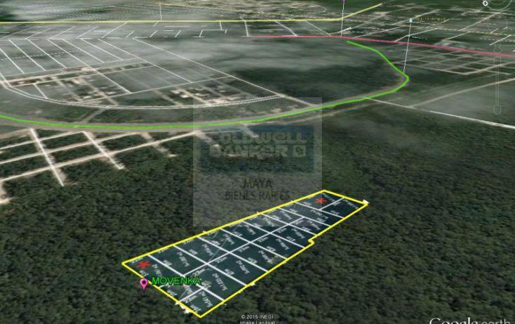 Foto de terreno habitacional en venta en mza 750 lt12 12, villas tulum, tulum, quintana roo, 1481021 no 03
