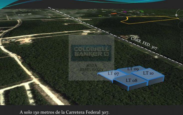 Foto de terreno habitacional en venta en mza 876 lt 04 10 10, tulum centro, tulum, quintana roo, 332427 no 02