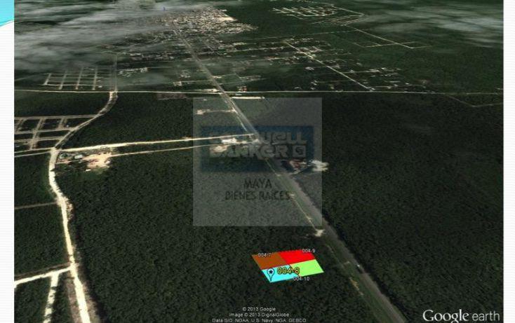 Foto de terreno habitacional en venta en mza 876 lt 04 10 10, tulum centro, tulum, quintana roo, 332427 no 04