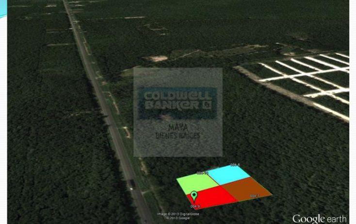 Foto de terreno habitacional en venta en mza 876 lt 04 10 10, tulum centro, tulum, quintana roo, 332427 no 05