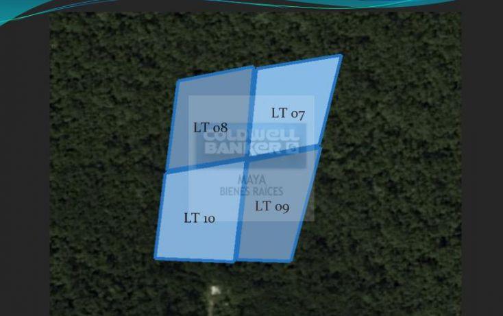 Foto de terreno habitacional en venta en mza 876 lt 0407, tulum centro, tulum, quintana roo, 346113 no 01