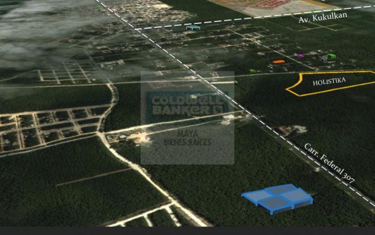 Foto de terreno habitacional en venta en mza 876 lt 0407, tulum centro, tulum, quintana roo, 346113 no 03