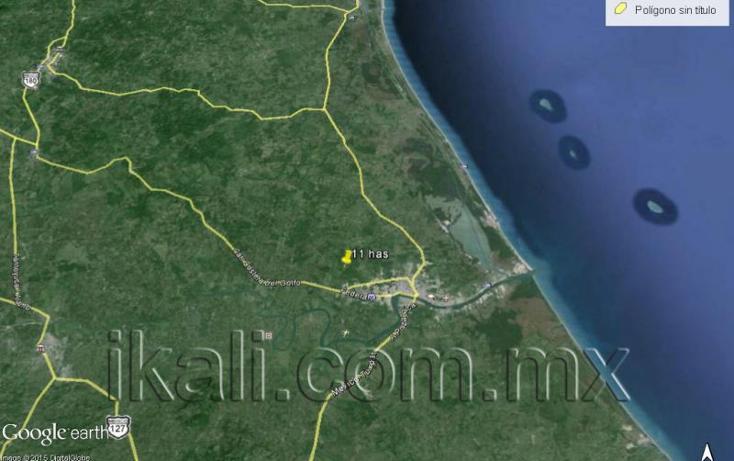 Foto de terreno habitacional en venta en  , nalua, tuxpan, veracruz de ignacio de la llave, 584013 No. 10