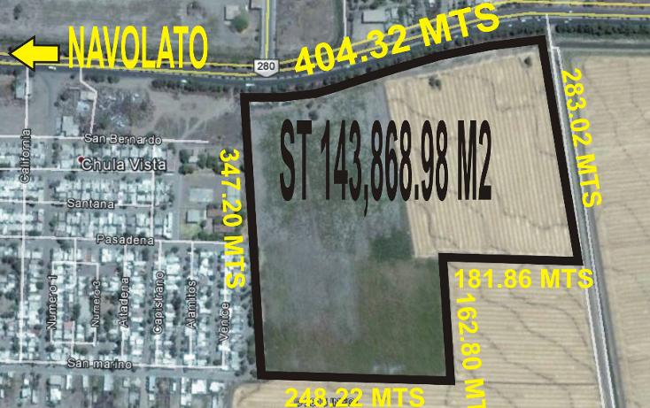Foto de terreno comercial en venta en  , navolato centro, navolato, sinaloa, 1056075 No. 01