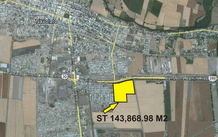Foto de terreno comercial en venta en  , navolato centro, navolato, sinaloa, 1056075 No. 02