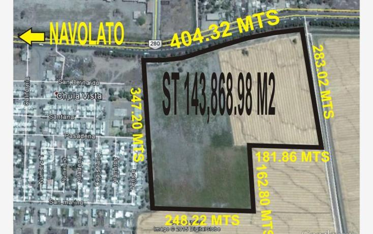 Foto de terreno comercial en venta en  , navolato centro, navolato, sinaloa, 1433885 No. 01