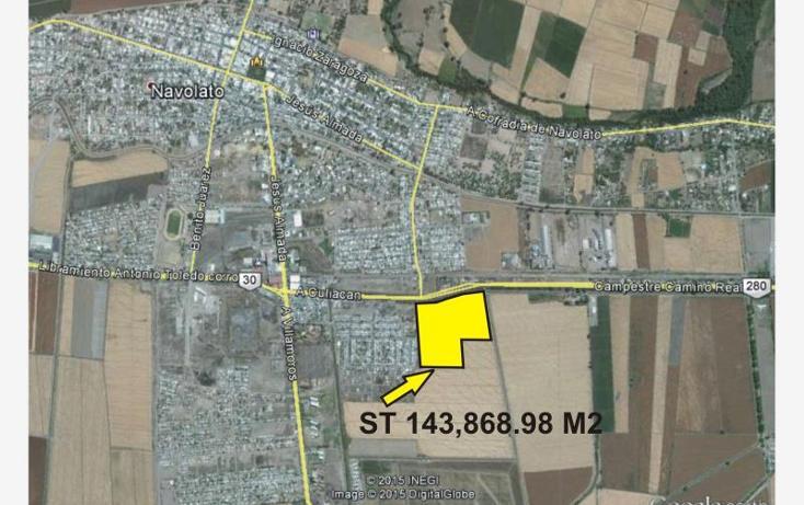 Foto de terreno comercial en venta en  , navolato centro, navolato, sinaloa, 1433885 No. 02