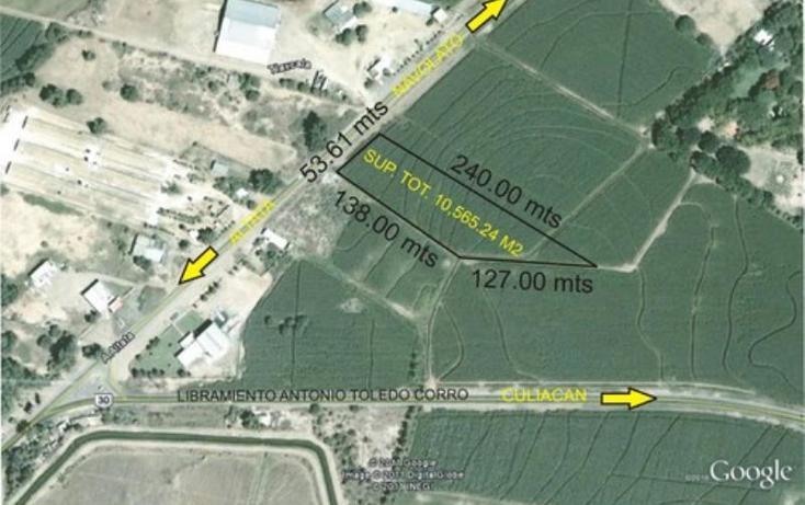 Foto de terreno comercial en venta en  , navolato centro, navolato, sinaloa, 1785794 No. 01