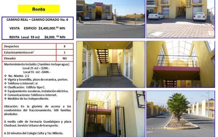 Foto de oficina en venta en camino real - camino dorado numero 6 - glorieta nd, camino real, corregidora, querétaro, 754227 No. 01