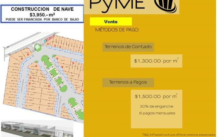 Foto de terreno industrial en venta en  nd, la noria, el marqués, querétaro, 754235 No. 04