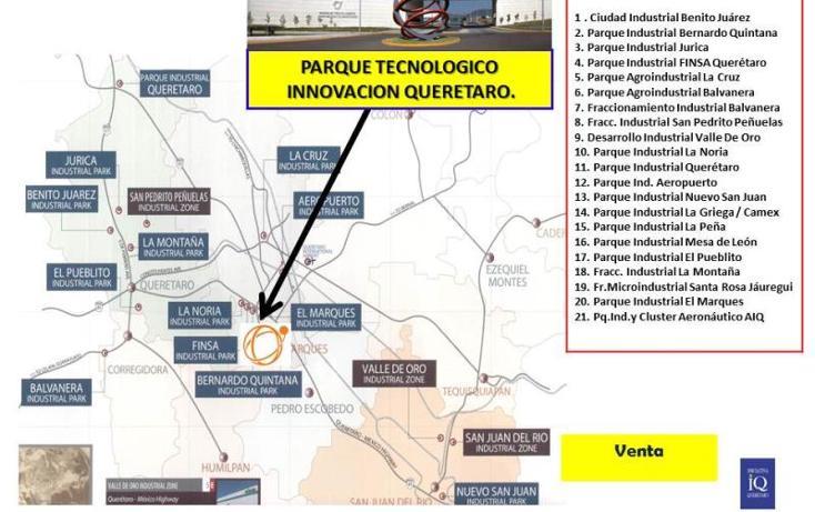 Foto de terreno industrial en venta en  nd, la noria, el marqués, querétaro, 754237 No. 05