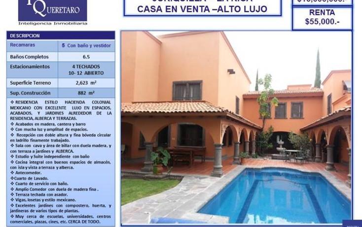 Foto de casa en renta en  nd, nuevo juriquilla, querétaro, querétaro, 754163 No. 04