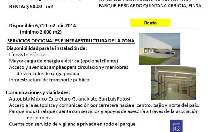 Foto de nave industrial en renta en  nd, paseos del marques, el marqués, querétaro, 754147 No. 01