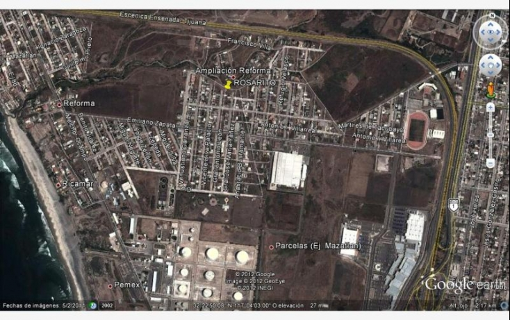 Foto de terreno habitacional en venta en niños heroes 7, reforma, playas de rosarito, baja california norte, 433855 no 07