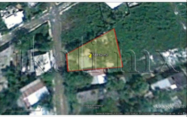 Foto de terreno habitacional en venta en niños heroes, los mangos, tuxpan, veracruz, 572738 no 01