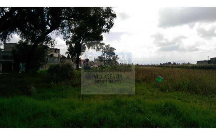 Foto de terreno habitacional en venta en  , san gaspar tlahuelilpan, metepec, méxico, 1429681 No. 01
