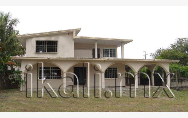 Foto de casa en venta en  nonumber, banderas, tuxpan, veracruz de ignacio de la llave, 583995 No. 01