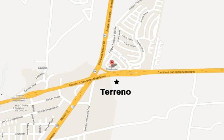 Foto de terreno comercial en venta en  nonumber, banus, tlajomulco de zúñiga, jalisco, 1398979 No. 18