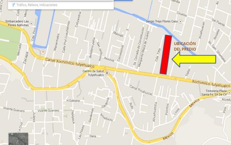 Foto de terreno habitacional en venta en  nonumber, barrio pocitos, xochimilco, distrito federal, 671237 No. 09