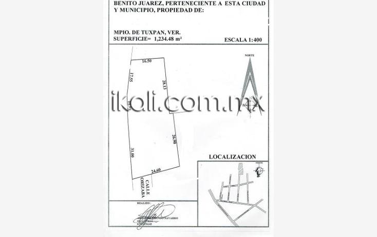 Foto de terreno habitacional en venta en  nonumber, benito ju?rez, tuxpan, veracruz de ignacio de la llave, 1727254 No. 19