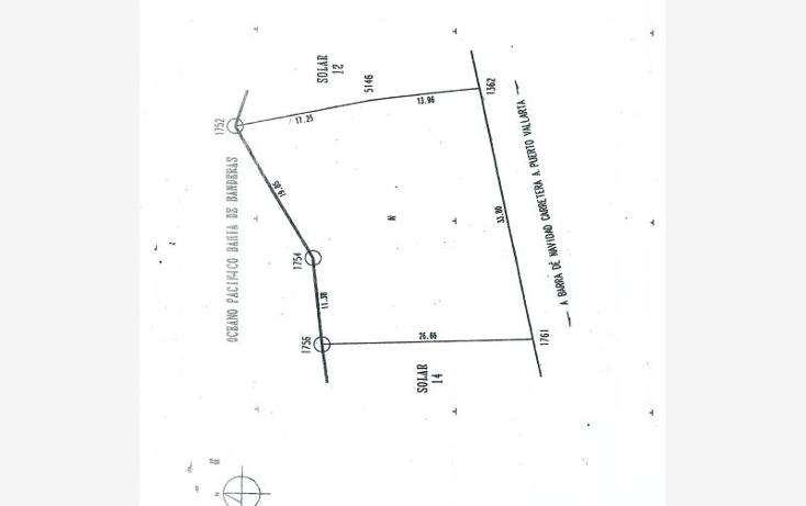 Foto de terreno habitacional en venta en  nonumber, boca de tomatl?n, puerto vallarta, jalisco, 1937372 No. 06