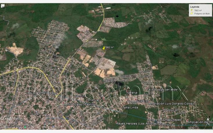 Foto de terreno habitacional en venta en  nonumber, campo real, tuxpan, veracruz de ignacio de la llave, 1711238 No. 13