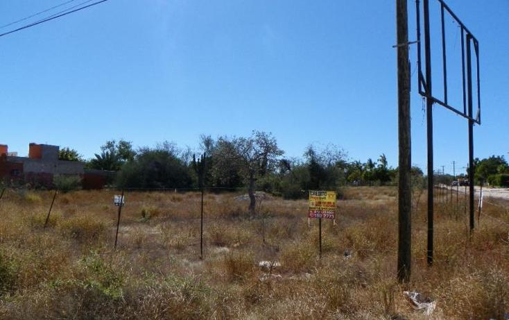 Foto de terreno habitacional en venta en  nonumber, centenario, la paz, baja california sur, 1761502 No. 01