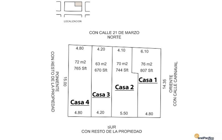 Foto de casa en venta en  nonumber, centro, mazatl?n, sinaloa, 894607 No. 02