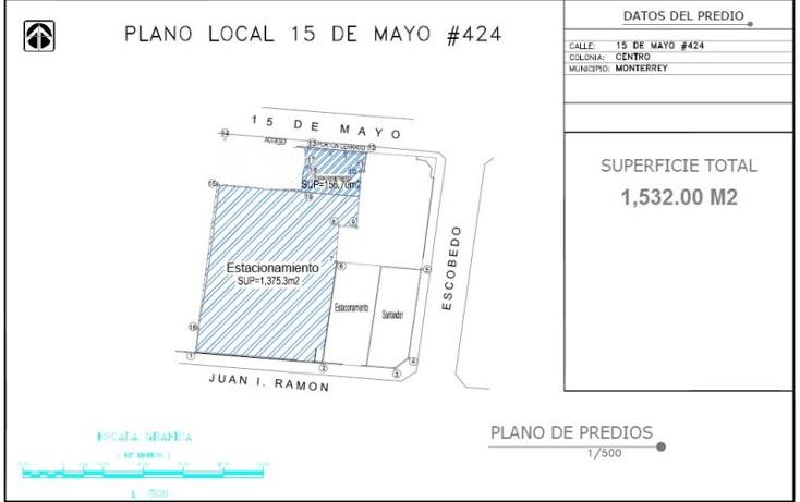 Foto de terreno comercial en renta en  nonumber, centro, monterrey, nuevo le?n, 1426579 No. 02
