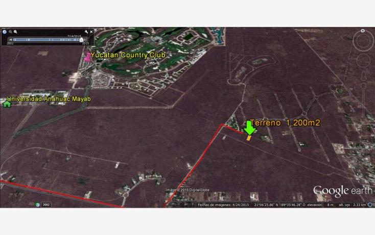 Foto de terreno habitacional en venta en  nonumber, chablekal, m?rida, yucat?n, 1469721 No. 01
