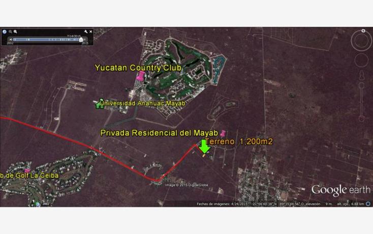Foto de terreno habitacional en venta en  nonumber, chablekal, m?rida, yucat?n, 1469721 No. 02