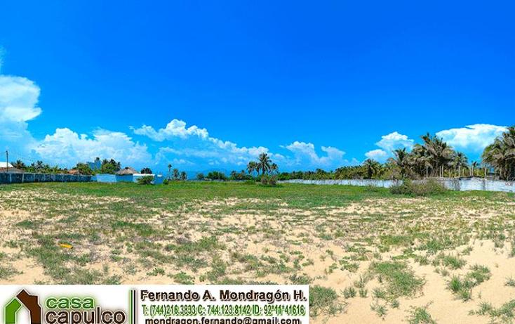 Foto de terreno habitacional en venta en  nonumber, colonia luces en el mar, coyuca de benítez, guerrero, 1377913 No. 02