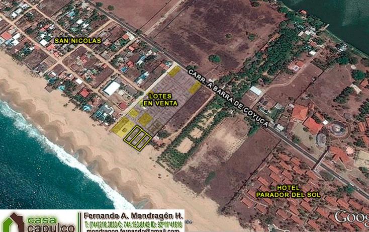 Foto de terreno habitacional en venta en  nonumber, colonia luces en el mar, coyuca de benítez, guerrero, 1377913 No. 04