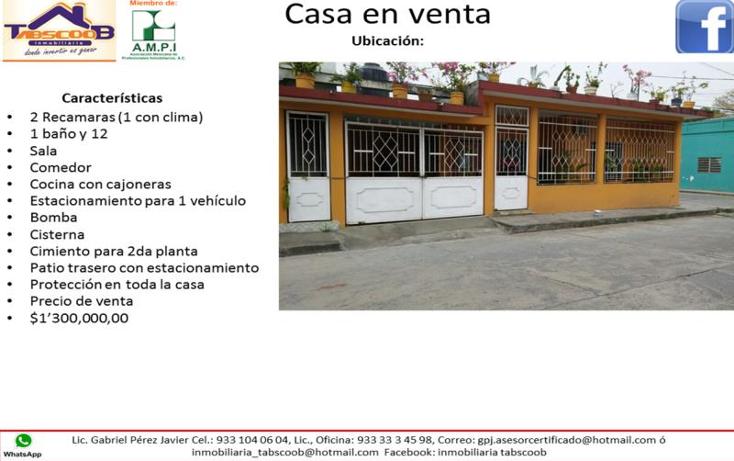 Foto de casa en venta en  nonumber, comalcalco centro, comalcalco, tabasco, 1936210 No. 02