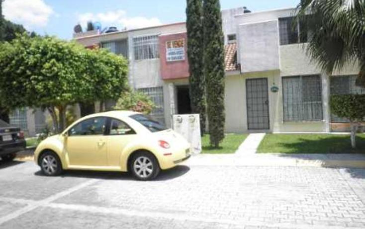 Foto de casa en venta en  nonumber, condominio el ?mate, emiliano zapata, morelos, 378606 No. 01