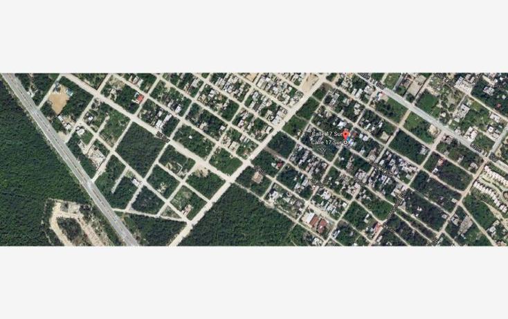 Foto de terreno habitacional en venta en  nonumber, ejidal, solidaridad, quintana roo, 602569 No. 02